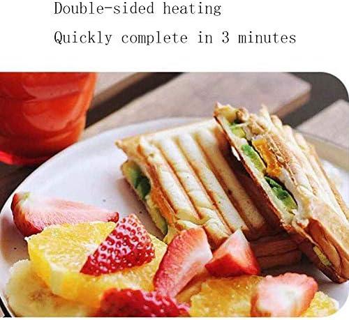 APAN Tostapane e tostapane con Piastre antiaderenti,griglia salutare,Acciaio Inossidabile,750 W.