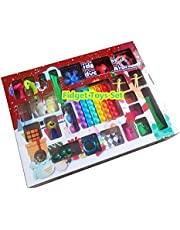 Hihere Fidget Toys 24 dagen kerst adventskalender Pack Anti Stress Speelgoed Kit Stress Relief Figet Toy Blind Box Kids A