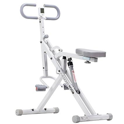 A-SSJ Bicicletas Estáticas y de Spinning Bicicleta de Ejercicio Plegable, Bicicleta magnética,
