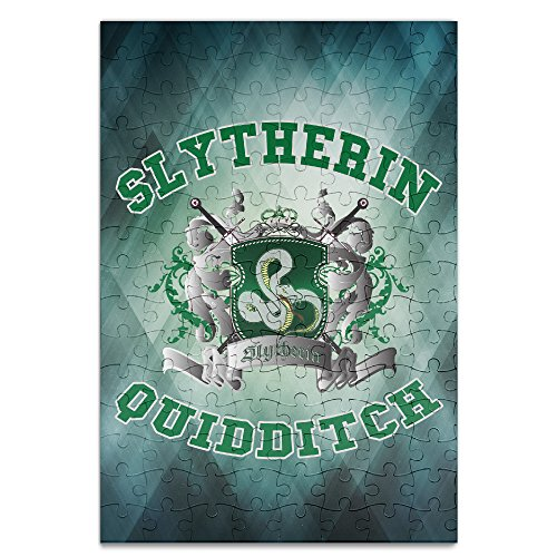 KIDDOS Personalized Picture Print Harry Potter-Slytherin Quidditch 5 120 Piece Jigsaw Puzzle