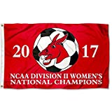 Central Missouri Mules 2017 Division II Women's Soccer Champions Flag
