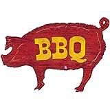 "Pig Shaped BBQ 35"" Mylar Balloon"