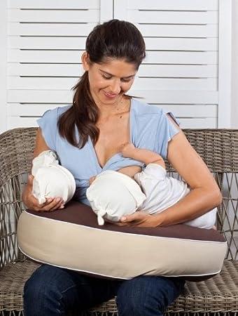 Amazon.com : Cooeee Double Nursing Pillow (Double, Blue ...