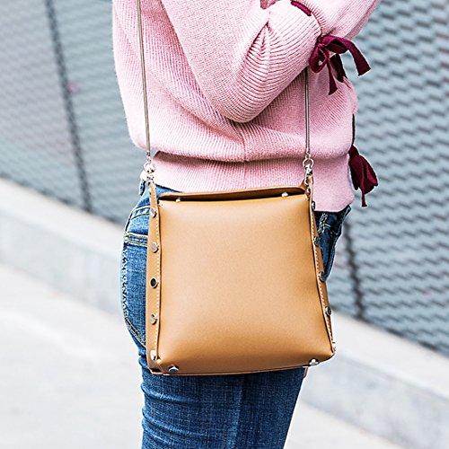 Marrón bolso Sintético Minotta mano Mujer elegante de de MinottaUKD6060 UHxpR