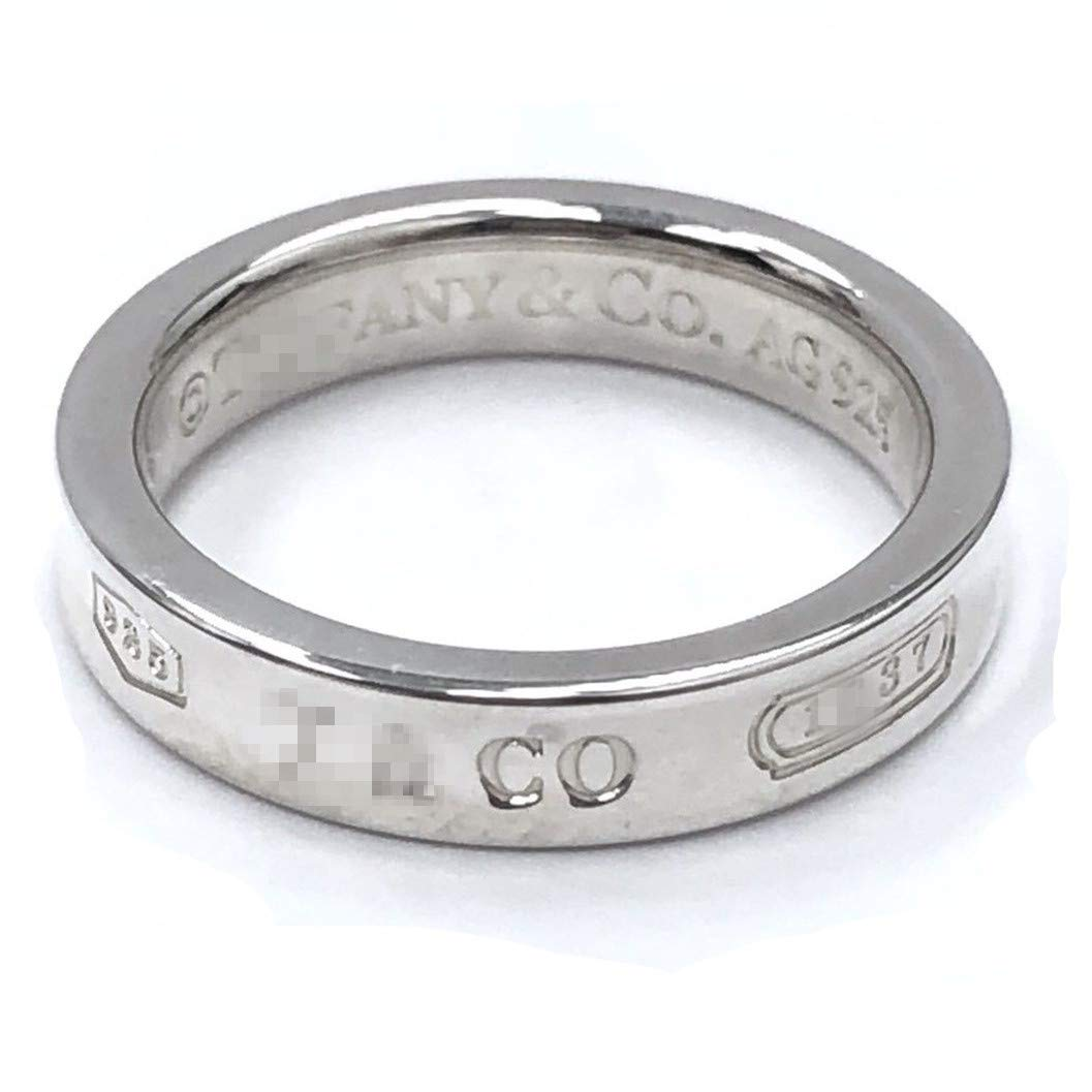 TTBRAND 925 Sterling Silver 1837 Narrow Ring in Size 9