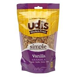 UDI\'s Gluten Free Granola Vanilla -- 12 oz Each / Pack of 2