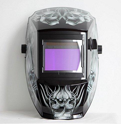 63c13e76fd2dc Antra AH6-660-6218 Solar Power Auto Darkening Welding Helmet with AntFi X60-