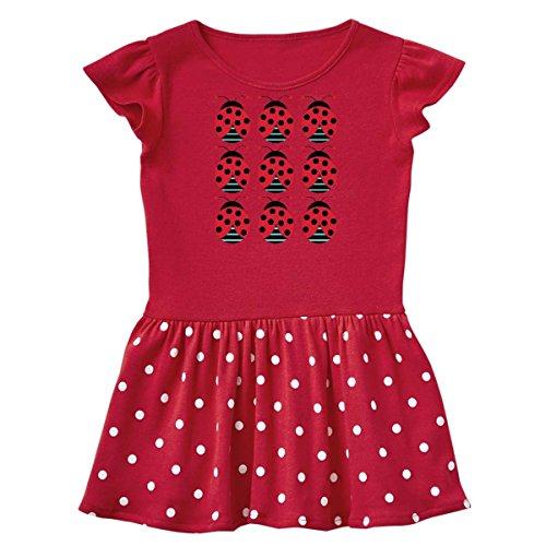 inktastic - Ladybug Lover Infant Dress 18 Months Red and Polka Dot 1038e