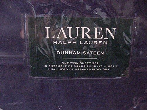 Ralph Lauren Dunham Cadet Blue Navy Sheet Set Twin