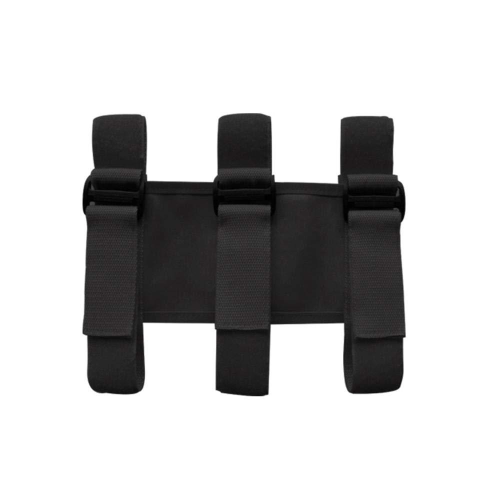 Magic Strip Sticker Adjustable Car Fire Extinguisher Holder Belt for Jeep Wrangler YJ TJ LJ JK JKU JL JLU Extinguisher Not Included Durable Nylon Stitching Roll Bar Fire Extinguisher Mount