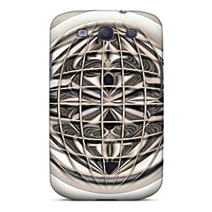 Awesome Ogy733MrQp EOVE Defender Tpu Hard Case Cover For Galaxy S3- Caged