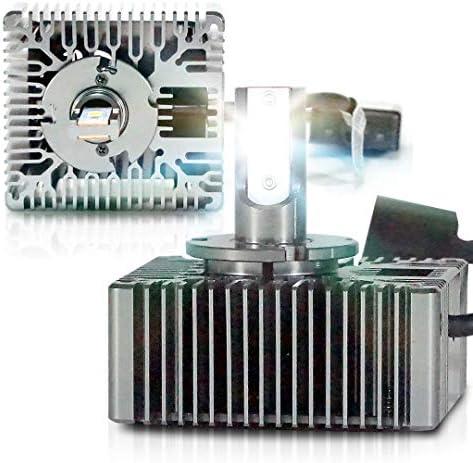 LED D5S 9285410171 キセノンヘッドライトバルブ変換ライト 6000K 35W (2個パック)