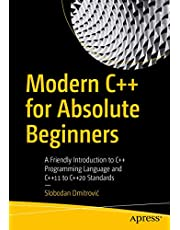Modern C++ for Absolute Beginners: A Friendly Introduction to C++ Programming Language and C++11 to C++20 Standards