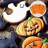 Aneco 4 Pieces Halloween Silicone Baking Molds