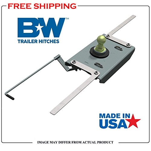 B&W Trailer Hitches Turnoverball 1384 2013-2018 RAM 2500 Trucks Gooseneck Hitch