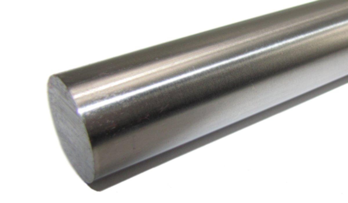 Präzisionswelle 6mm h6 geschliffen und gehärtet Länge 500mm