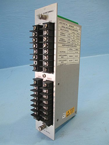 Bently Nevada 84145-01 78462-01 XDCR I/O Record Terminal 78599-01 PLC Relay Card (Relay Programmable Card I/o)