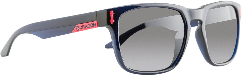 5eb864af7b92 Amazon.com  Dragon Alliance Monarch Sunglasses Crystal Navy Grey  Sports    Outdoors