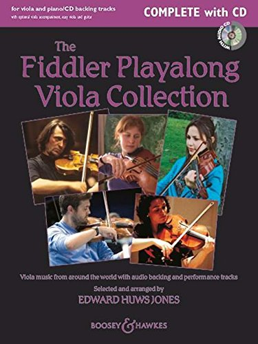 The Fiddler Playalong Viola Collection  Viola Music From Around The World With Audio Backing And Performance Tracks. Viola  2 Violen  Und Klavier ... CD.  For Viola And Piano  Fiddler Collection