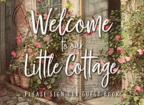 Welcome To Our Little Cottage: Vintage Roses Guest Book
