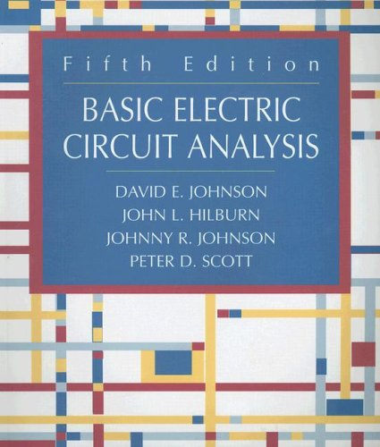 Basic Electric Circuit Analysis: Amazon.es: Johnson, David E.: Libros en idiomas extranjeros
