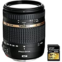 Tamron 18-270mm f/3.5-6.3 Di II VC PZD IF Lens w/Built in Motor for Nikon 6 years Warranty with Lexar 64GB Professional 633x SDXC Class 10 UHS-I/U3 Memory Card Up to 95 Mb/s Noticeable Review Image
