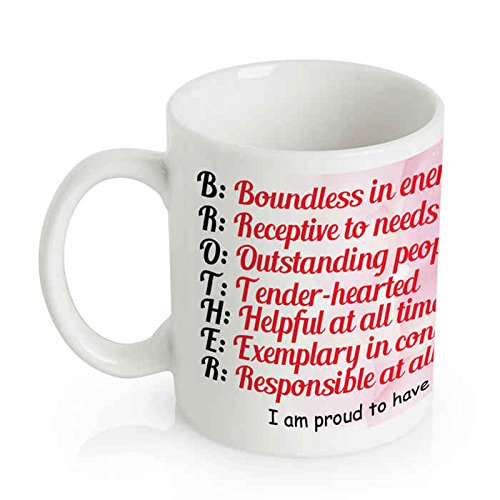 Buy Printelligent Designer Quotes Mug For Gifting On Rakhi Online At Low Prices In India