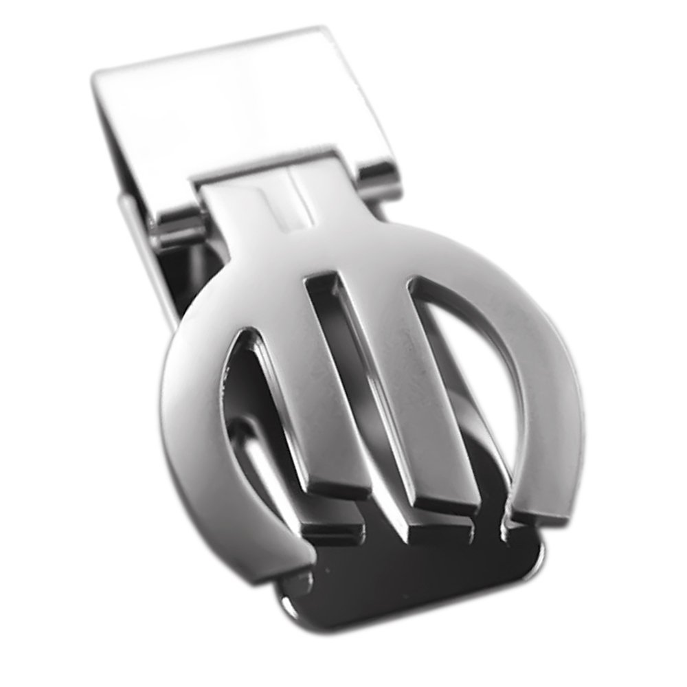 Huertuer Shape stainless steel Money clip in metallo (argento)