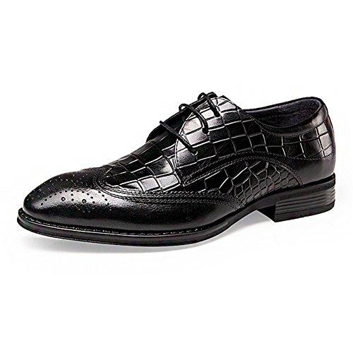 Zapatos ocasionales de los hombres negocio/Yinglunbuluoke grabado zapatos de los hombres A