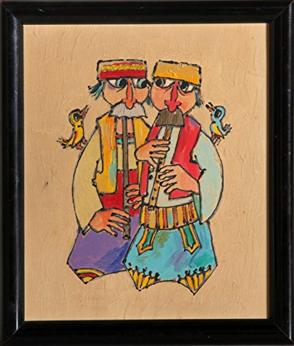 Two Men with Flutes