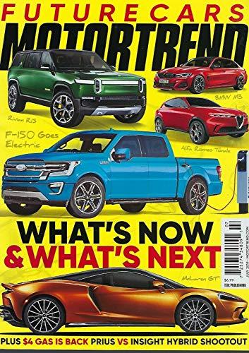 motor trend magazine July 2019 **+free gift** (Future Cars)