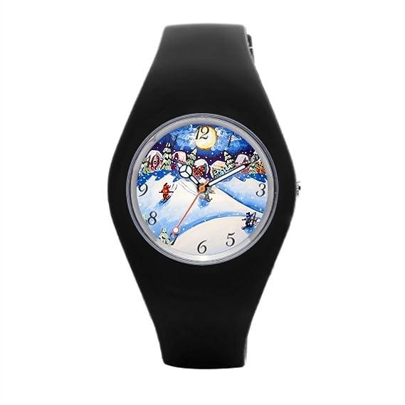 Barato Reloj de pulsera Mejores Relojes deportivos para los hombres de esquí Esquí: Amazon.es: Relojes