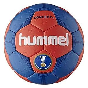Hummel Erwachsene Handball CONCEPT PLUS, Imperial Blue/Fiery Coral, 3,...