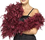 Deluxe Boa Burgundy, One Size