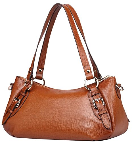 S-zone Women's Genuine Leather Shoulder Bags Cross Body Handbags Ladies Top-handle Purse S-zone D10v033b