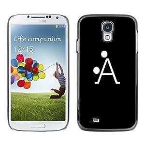 A-type Arte & diseño plástico duro Fundas Cover Cubre Hard Case Cover para Samsung Galaxy S4 (?LA)