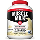 Muscle Milk Genuine Protein Powder, Banana Crème, 32g Protein, 4.94 Pound