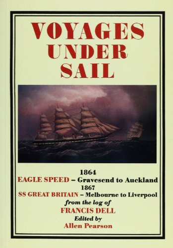 Voyages under sail: 1864 - Eagle Speed, from Gravesend to Auckland, New Zealand (127 days) : 1867 - SS Great Britain, from Melbourne, Australia to Liverpool (57 days, a record)