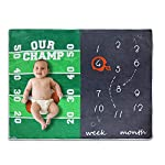 Homegician-Baby-Monthly-Milestone-Blanket-for-Boy-Girl-New-Design-Football-Rugby-Baby-Blanket-Toddler-Blankets-Photography-Background-Prop-for-Mom-Newborn-Baby-Shower-Gifts-Christmas-New-Year-Gift