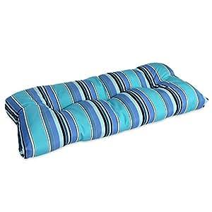 Comfort Classics Sunbrella Wicker Settee Cushion - 45 x 18 x 4.5 in.
