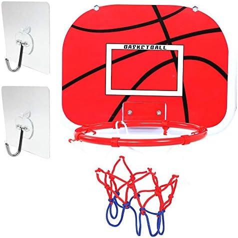Dhishy Mini Juego de Canasta de Baloncesto Baloncesto de Interior para Ni/ños