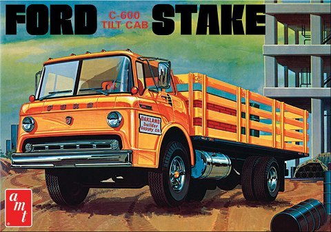 AMT650 AMT - Ford C-600 Stake Bed Truck