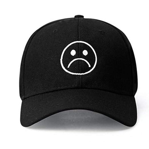 c9444edd3ac22 Home Fashion DIY Sad Boys Adjustable Hat Crying Face Embroidery Baseball Cap  Dad Hat Hip Hop