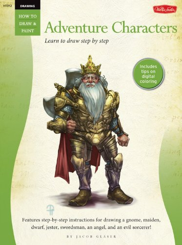 Drawing: Adventure Characters (How to Draw & Paint) ebook