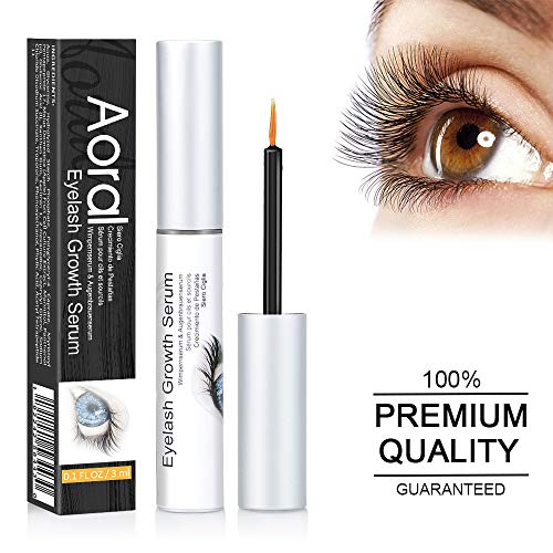 Eyelash Growth Serum, Lash Growth Serum – Eyelash Serum & Eyebrow Growth Serum, Enhancer, Naturally Growing Longer, Thicker, Fuller, Enhancing Treatment Luscious Lashes and Brow