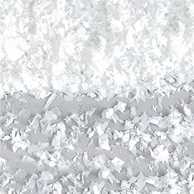 amscan Flurry White Christmas Plastic Faux Snow | Party Decoration: Toys & Games