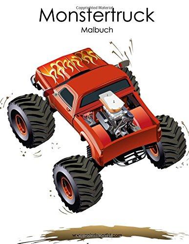 Monstertruck-Malbuch 1: Amazon.de: Nick Snels: Bücher