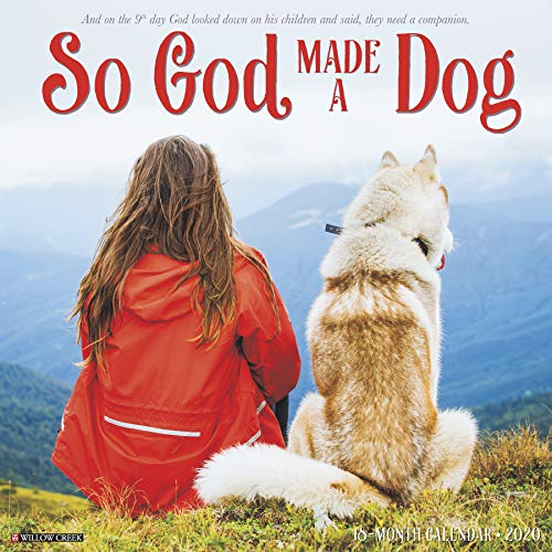 So God Made a Dog 2020 Wall Calendar