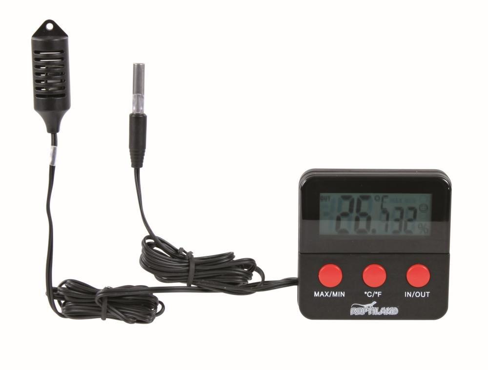 Digital Thermometer und Hygrometer für Terrarium