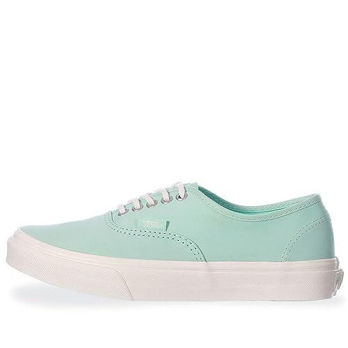 898ccf84183de Vans Tenis Authentic Slim - 0XG6IA2 - Verde Pastel - Mujer - Verde Pastel -  26